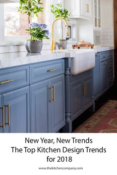 2018 has arrived, and with it a whole new set of kitchen design trends that we love (plus some from 2017 that are stronger than ever).  Here are our predictions for kitchen trends that will be huge in 2018