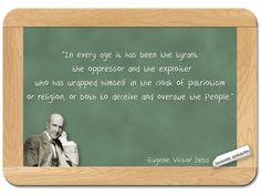 Eugene Victor Debs... on Patriotism