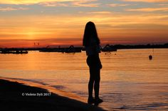 Poesia che arriva dal cielo serale dell'estate