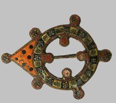 Fibula,  1st-3rd? Centuries A.D. The Museum of Russian Art, Minneapols
