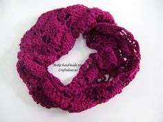 crochet pineapple scarf | make handmade, crochet, craft