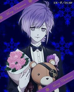 Kanato Anime Amor, Anime Lindo, Vampire Boy, Vampire Knight, Yuma Diabolik Lovers, Kanato Sakamaki, Diabolik Lovers Wallpaper, Estilo Anime, Handsome Anime Guys