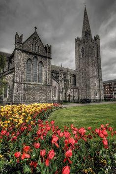 Saint Patrick's Cathedral in Dublin, Ireland #travel #Ireland