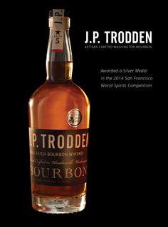 J.P. Trodden Bourbon, Washington state.