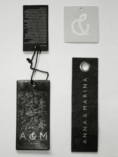 Fabric Cloth Hang Tag For International Brand Garments Photo ...