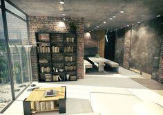 дизайн небольшого офиса в стиле лофт: 26 тыс изображений найдено в Яндекс.Картинках