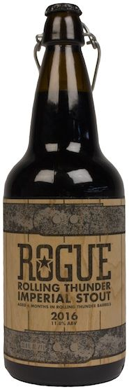 Rogue announces their 2016 Rolling Thunder Imperial Stout, its first-ever #beer…
