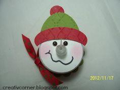 creativcorner: Tealight snowman