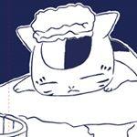「夏目友人帳」より、ニャンコ先生「ゆ」マルチタペストリーのれんが登場です! Snoopy, Fictional Characters, Fantasy Characters