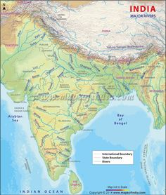 Buy World River Map | Major Rivers of the World | World Map ...