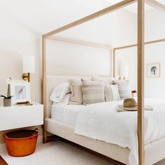 Timothy Godbold neutral bedroom. What a stunner.
