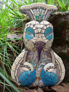 Lolli - She's prone to flights of fancy   by Stephanie Gentry Mosaics & More