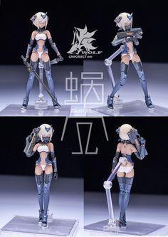 Sci Fi Anime, Mecha Anime, Character Concept, Concept Art, Frame Arms Girl, Cool Robots, Robot Girl, Pose Reference Photo, Anime Figurines