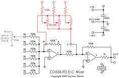 mixer pcb, can chain upto 6 together.  very cool
