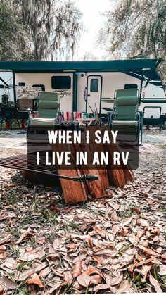 Travel Trailer Living, Travel Trailer Camping, Travel Trailer Remodel, Rv Camping Tips, Camping Checklist, Camper Life, Rv Life, Camper Van, Vintage Campers Trailers
