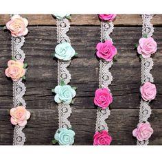 Mini Lace Flower Crowns