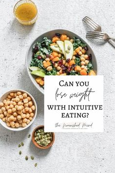 Can You Lose Weight With Intuitive Eating? | The Nourished Mind Fiber Rich Foods, Intuitive Eating, Trying To Lose Weight, Calorie Counting, Intuition, Health And Wellness, Cravings, How Are You Feeling, Mindfulness