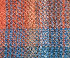 12 shaft honeycomb sample Weaving Textiles, Distortion, Honeycomb, Hand Weaving, Stripes, Ideas, Hands, Thoughts, Weaving