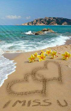 To my dear Joe,♡♡♡l miss you Joe, Love Doris. Beautiful Flowers Wallpapers, Beautiful Nature Wallpaper, Beautiful Gif, Beautiful Landscapes, I Love You Pictures, Love Images, Nature Pictures, I Miss You Wallpaper, Beach Wallpaper