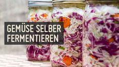 ✚Dein Darm macht dir oft Beschwerden?✚ Vielleicht ist fermentiertes Gemüse genau was dein Darm braucht! Mit Schritt für Schritt Anleitung zum Fermentieren.
