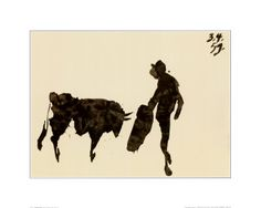 toros y toreros by Picasso - new artwork for my Spain-inspired kitchen!