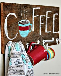 12 Days of Christmas, Day 4, Coffee Lover Gift http://bec4-beyondthepicketfence.blogspot.com/2014/11/12-days-of-christmas-day-4-coffee-lover.html#more