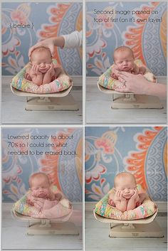 nice to know :) I tried this with Baby J but he was very tired and his arms got droopy