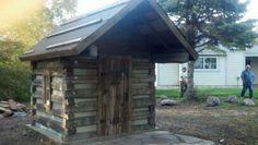 For Sale - Log Garden Shed - Artisan Restoration