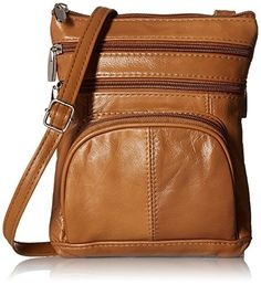 New Trending Cross Body Bags: Roma Leathers Genuine Leather Multi-Pocket Crossbody Purse Bag. Roma Leathers Genuine Leather Multi-Pocket Crossbody Purse Bag  Special Offer: $12.45  266 Reviews Meticulously crafted genuine lambskin leather crossbody bag has an abundance of organizational pockets, This stylish cross body bags is the perfect everyday travel purse. At a small size...