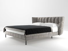 model: Husk Bed by B&B Italia Pink Bedding, Black Bedding, Luxury Bedding, Bedding Sets, Bed Designs Pictures, Bed Images, Bedroom Furniture, Furniture Design, Bed Photos