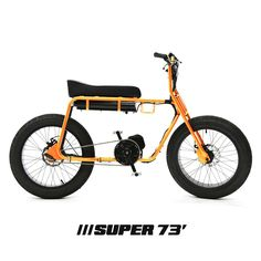 The Super 73 Electric Bike Bmx, Scooters, Vintage Moped, E Bike Battery, Motorised Bike, Power Bike, Push Bikes, Motorized Bicycle, Moto Bike