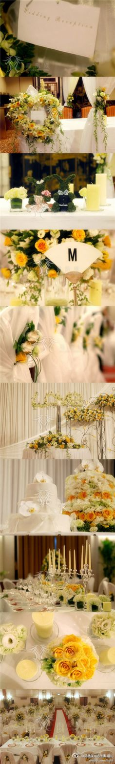 ideas boda amor amarillo Índigo Bodas y Eventos www.indigobodasyeventos.com