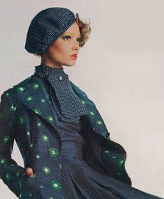 1970s fashion : photo by irving penn : 1972