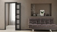 Compack 180 - Folding Door System - Lilly is Love Living Room Partition Design, Room Partition Designs, Folding Door Hardware, Folding Doors, Door Design Interior, Home Room Design, Room Door Design, Diy Home Decor Easy, Easy Diy