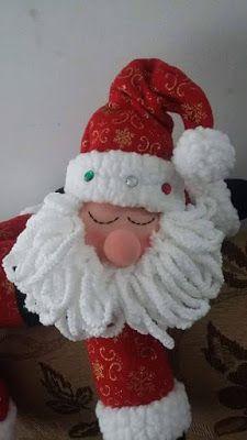 Aprende con Sara: Moldes para hacer a papá Noel Recostado Lily, Christmas Ornaments, Holiday Decor, Coca Cola, Diana, Home Decor, Xmas, Christmas Chair, Christmas Snowman