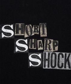 Fred Perry - A Short Sharp Shock Shirt Jamie Reid Laurel Wreath Blank Canvas