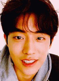 Imagen de beautiful, gif, and gif nam joo hyuk