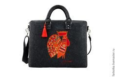 """Bag """"Rooster' by Farbotka. Tatarstan, Russia"""