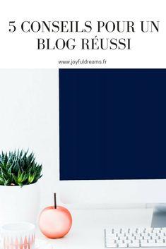 Envie de parfaire votre blog ? Vous vous lancez dans le blogging, mais vous avez besoin de conseils ? Découvrez mes 5 astuces pour un blog réussi !