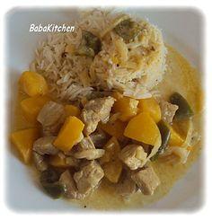 curry de porc aux pêches  http://www.babakitchen.be/article-curry-de-porc-aux-peches-105653457.html