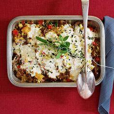 Lammcouscous aus dem Ofen mit Fetahaube Rezept | Küchengötter