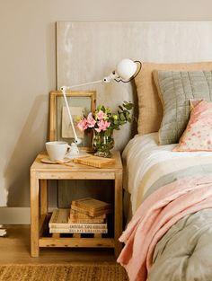 Trucos para conseguir un dormitorio de revista · ElMueble.com · Dormitorios - #decoracion #homedecor #muebles