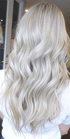 Color by Blonde Beauty. Color by The Beauty Secret Behind The Rose Blonde Hair Color – Trendy Hair Color Blonde Summer Highlights Haircolor Blonde Hair Looks, Ash Blonde Hair, Silver Blonde, Platinum Blonde Hair, Silver Hair, Baliage Hair, Cut My Hair, Hair Affair, Pretty Hairstyles