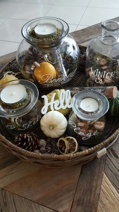 Autumn Interior, Beachy Colors, Shine The Light, Fall Decor, Interior Decorating, Fall Winter, Thanksgiving, Candles, Homemade