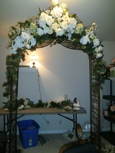 Wedding Arches Hobby Lobby garden arch with multi whitecream