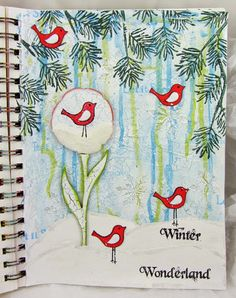 PaperArtsy: Welcome Back GD: Wanda Hentges Project #1 Winter Wonderland