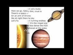 Cool solar system song by 6th grade science teacher Mr. Parr to the song Rocketeer by Far East Movement. Mr. Parr added this correction: Saturn has 62 moons with confirmed orbits, as of March 2011. 53 have been named and 9 are provisional.