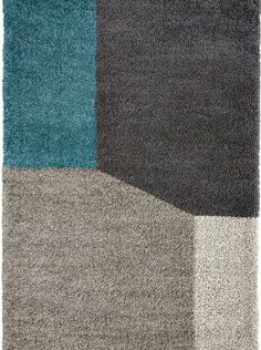 tapis contemporain tapis gris bleu ryiad saint maclou tapis. Black Bedroom Furniture Sets. Home Design Ideas