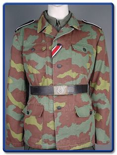 The History Bunker Ltd WW2 German and Italian Camouflage Ww2 Uniforms, German Uniforms, Military Army, Military Jacket, Camouflage, Luftwaffe, Ww2 History, Ww2 Photos, German Army