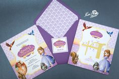 Birthday Invitation by Kim's Studio  Ysabel @ 7 Theme: Sofia the First  For inquiries, you may contact us at: Email: kimtasticevents@gmail.com Landline: 024545036 Smart: 09493415942